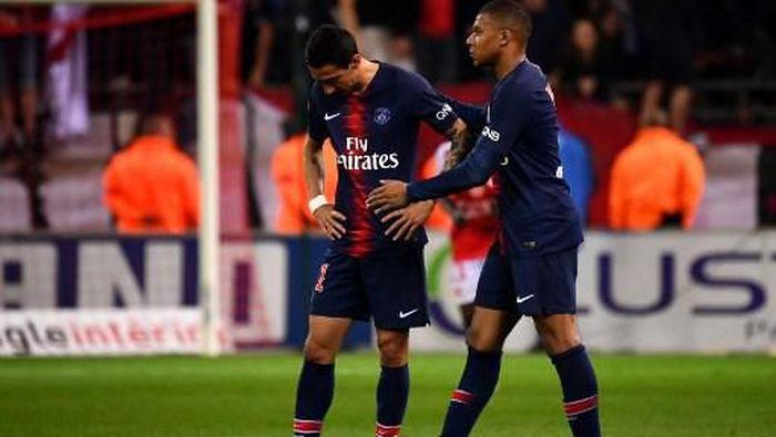 PSG kalah telak di laga penutup musim Liga Prancis (FRANCK FIFE / AFP)