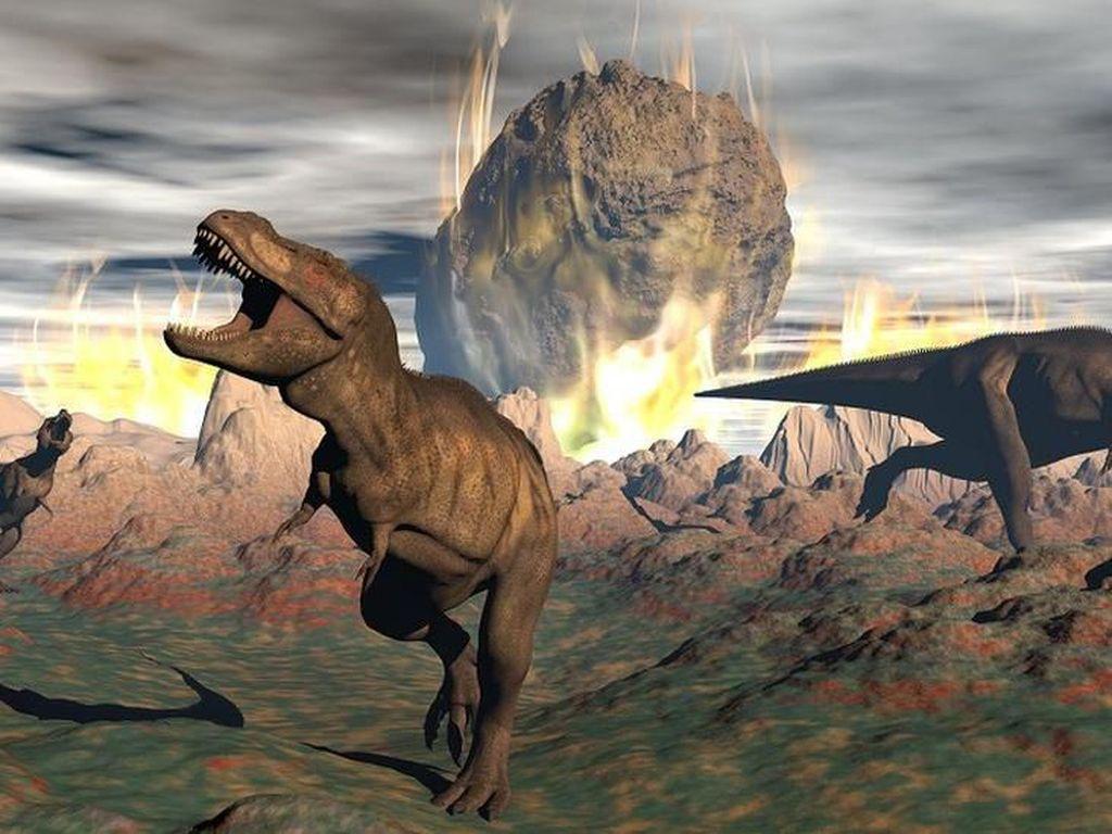 Detik-detik Menyeramkan Dinosaurus Punah Dihantam Asteroid (I)