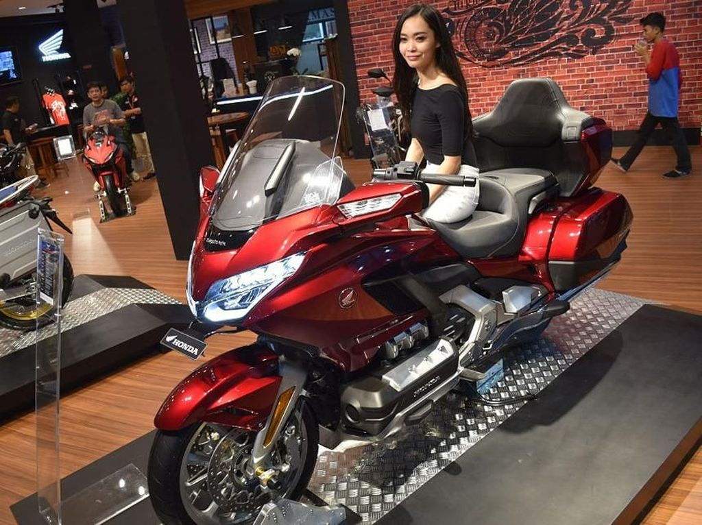 Aneka Motor Honda di Jakarta Fair