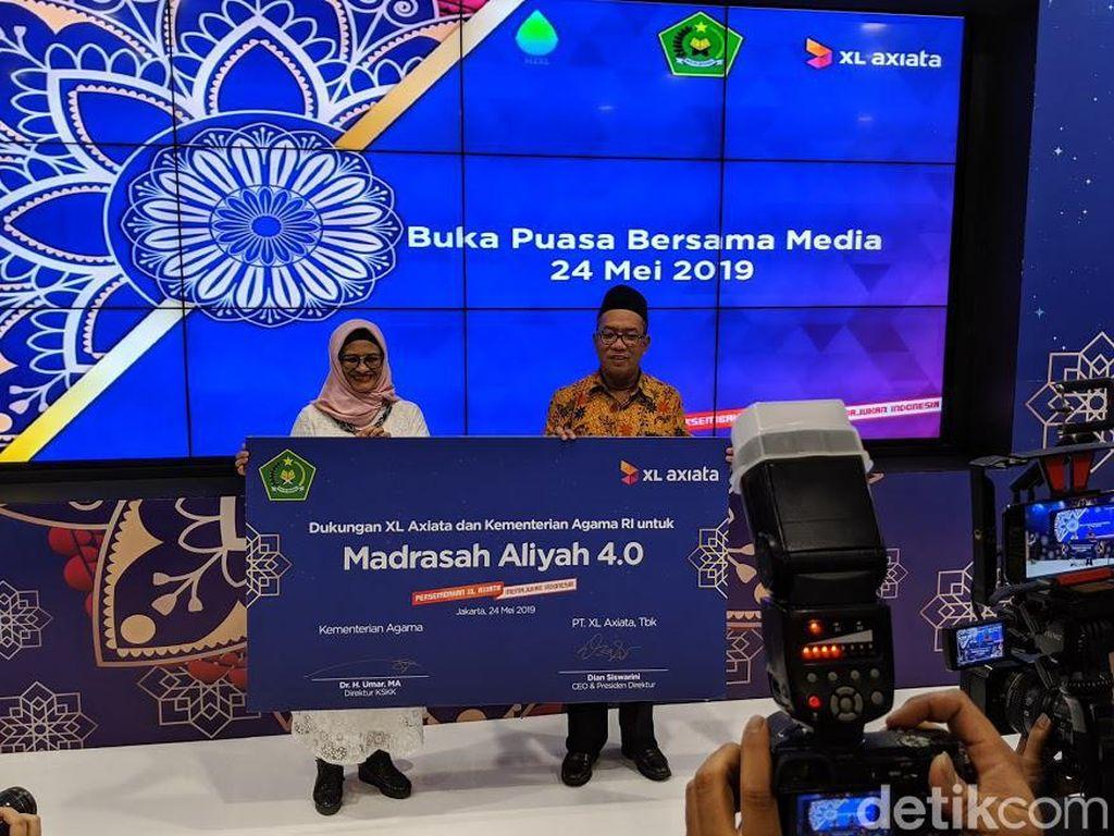 XL Axiata dan Kemenag Digitalisasi Madrasah Aliyah