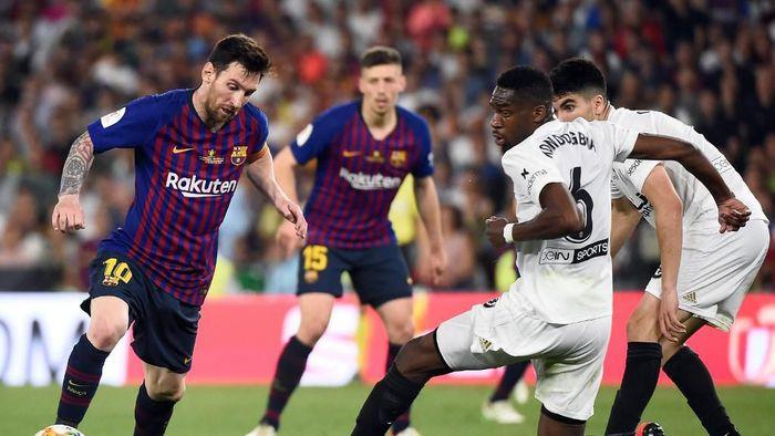 Barcelona gagal menjadi juara Copa del Rey. (Jose Jordan/AFP Photo)