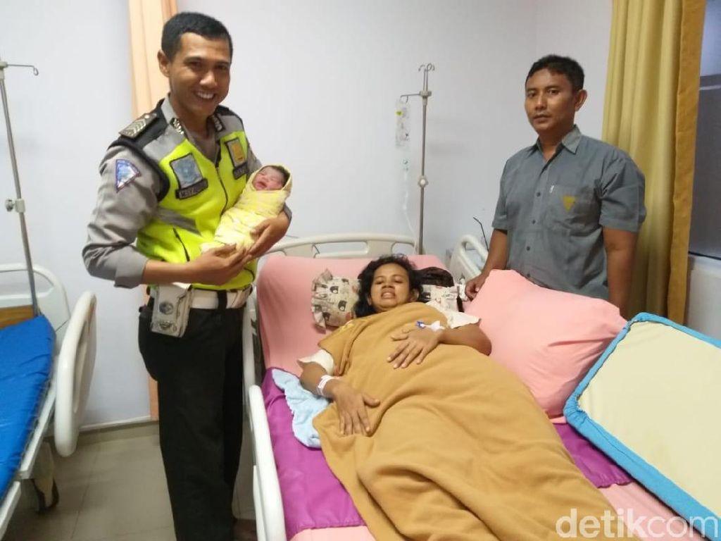Ucapan Terima Kasih Keluarga untuk Polantas yang Tolong Ibu Hamil di Pekanbaru