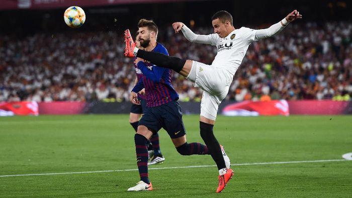 Gerard Pique tak cari-cari alasan dikalahkan Valencia di final Copa del Rey.  (Denis Doyle/Getty Images)