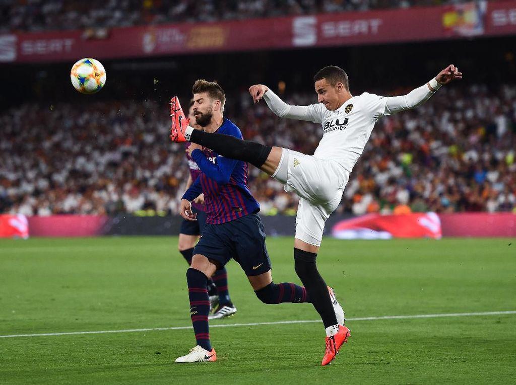 Kecewa Berat Dikalahkan Valencia, tapi Pique Berlapang Dada dan Beri Selamat