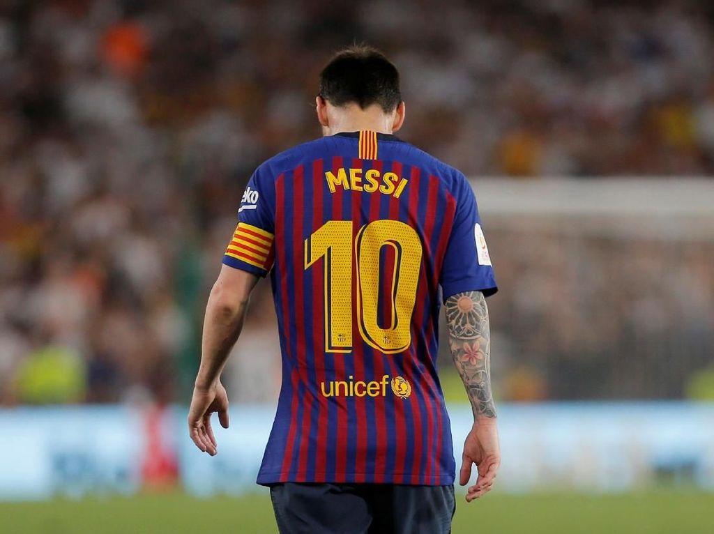 Bahkan Lionel Messi Tak Selalu Bisa Menggendong Tim Sendirian, Barcelona