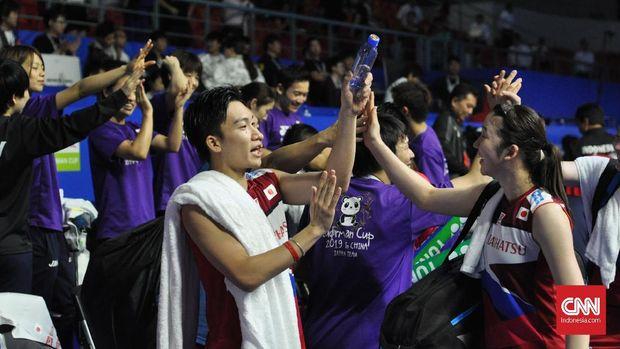 Kekuatan tim Jepang dan Cina jauh lebih merata di Piala Sudirman 2019.