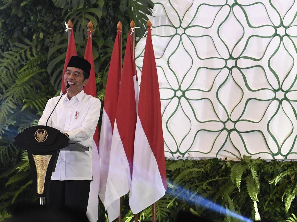 Godok Kabinet Baru, Jokowi: Tak Bicara Parpol dan Nonparpol