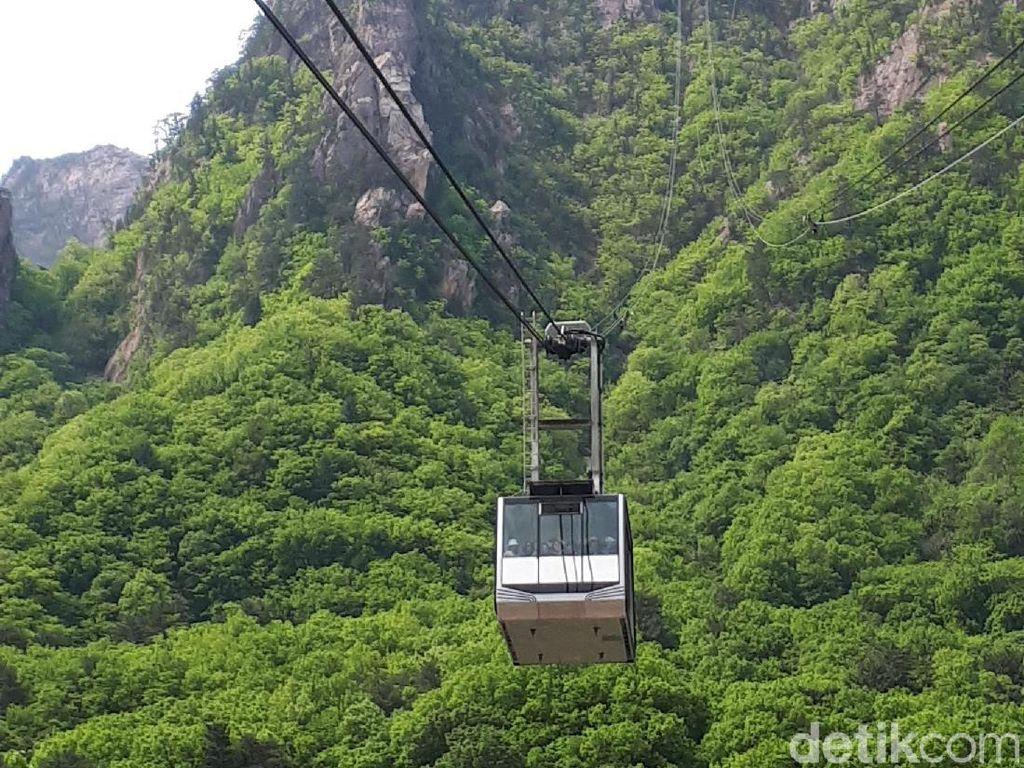 Foto: Kalau ke Korea Selatan, Naik ini Ya