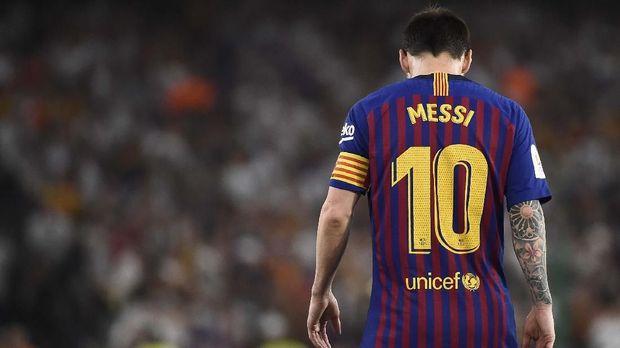 Lionel Messi jadi atlet dengan pendapatan terbesar tahun ini.