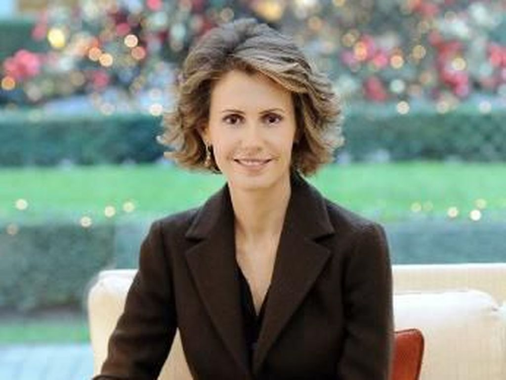 Transformasi Gaya Asma al-Assad, Istri Presiden Suriah yang Kontroversial