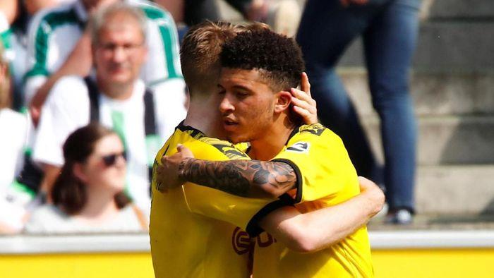 Jadon Sancho akan bertahan di Dortmund musim depan (Wolfgang Rattay/Reuters)