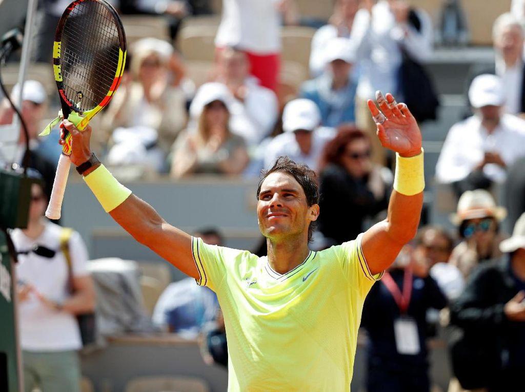 Rafael Nadal Vs Roger Federer di Semifinal Prancis Terbuka
