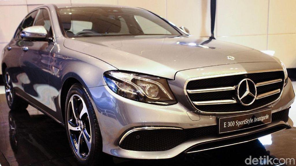 Punya Daleman Baru Mercedes-Benz Resmi Kenalkan E-Class