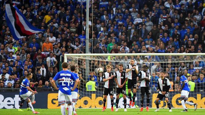 Juventus takluk 0-2 dari Sampdoria di pekan pamungkas Serie A (Massimo Pinca/Reuters)