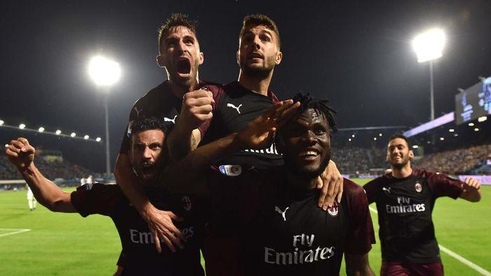 AC Milan diminta untuk memasang target setinggi mungkin. (Foto: Getty Images)