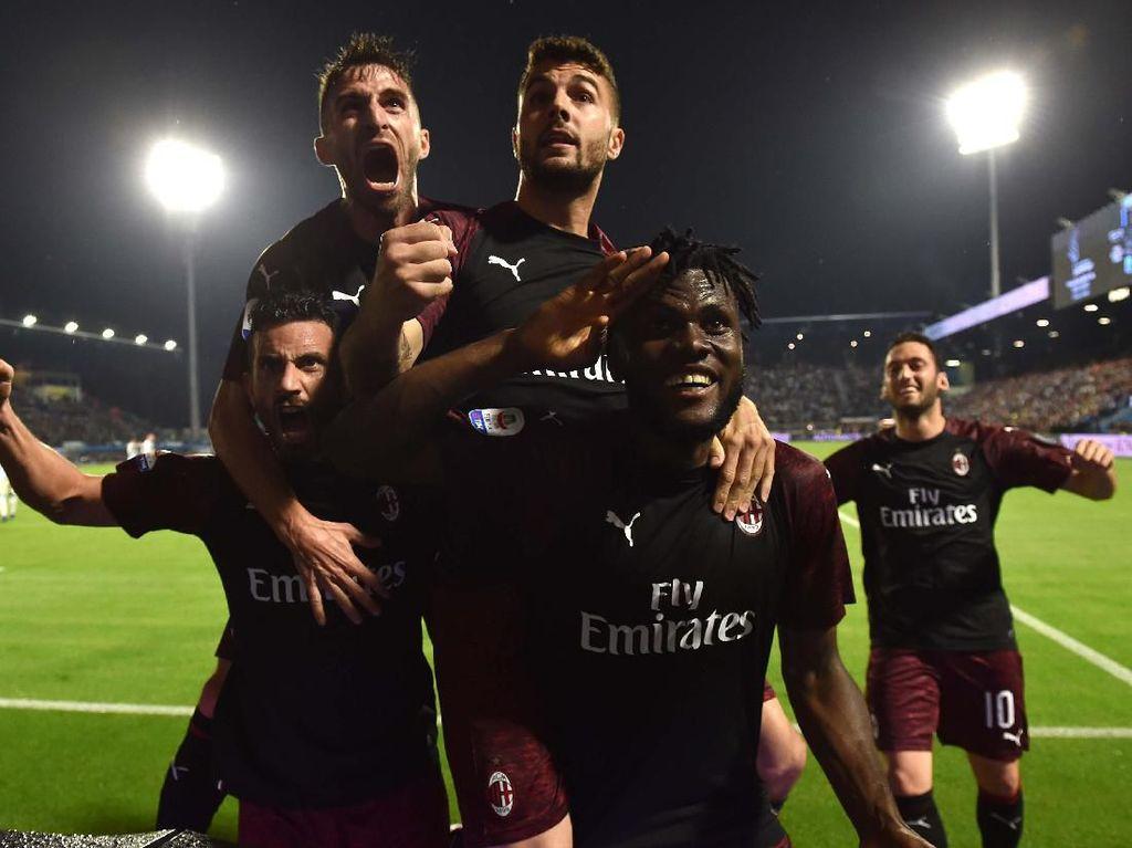 AC Milan Dicoret dari Liga Europa 2019/2020