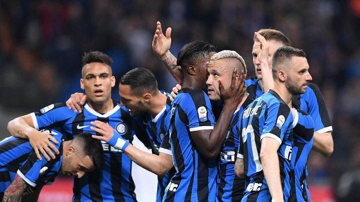 Inter Milan menang atas Empoli dan finis empat besar Serie A (Alberto Lingria/REUTERS)