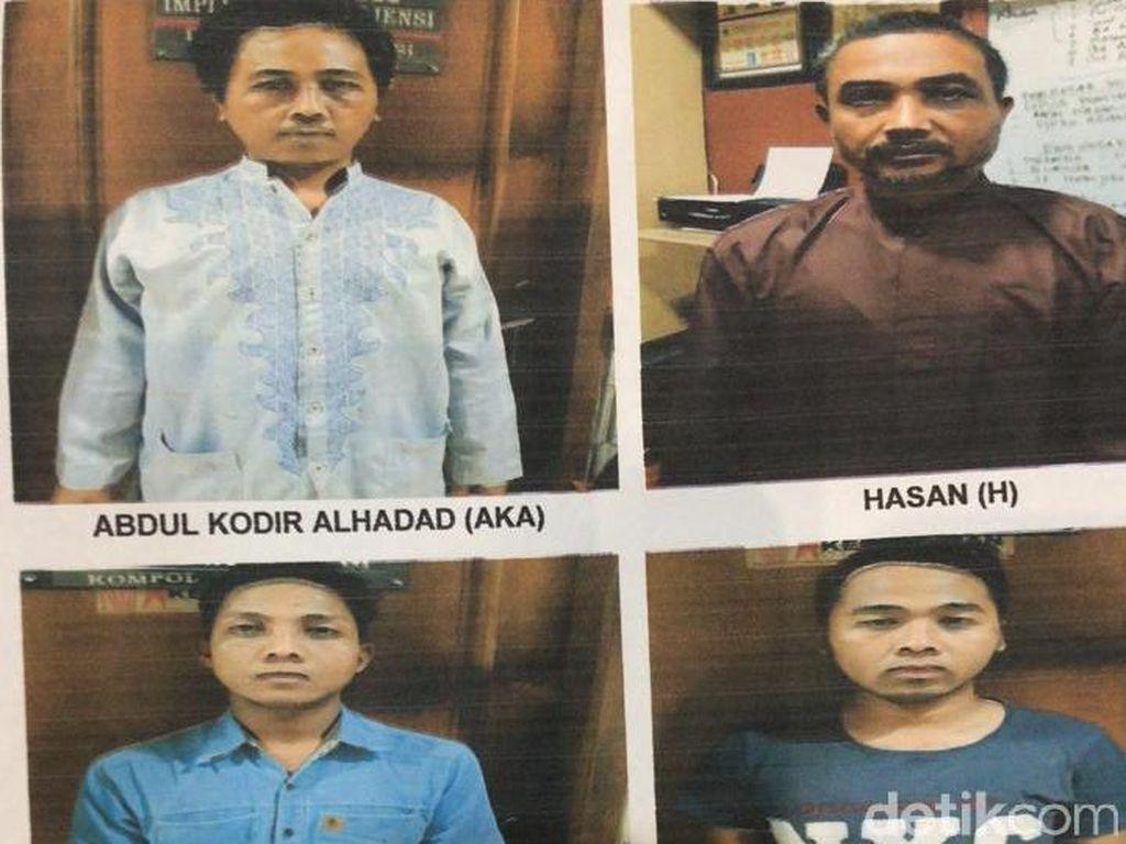 Kasus Pembakaran Polsek, Polisi Tahan 5 Tersangka dan Buru 5 Habib
