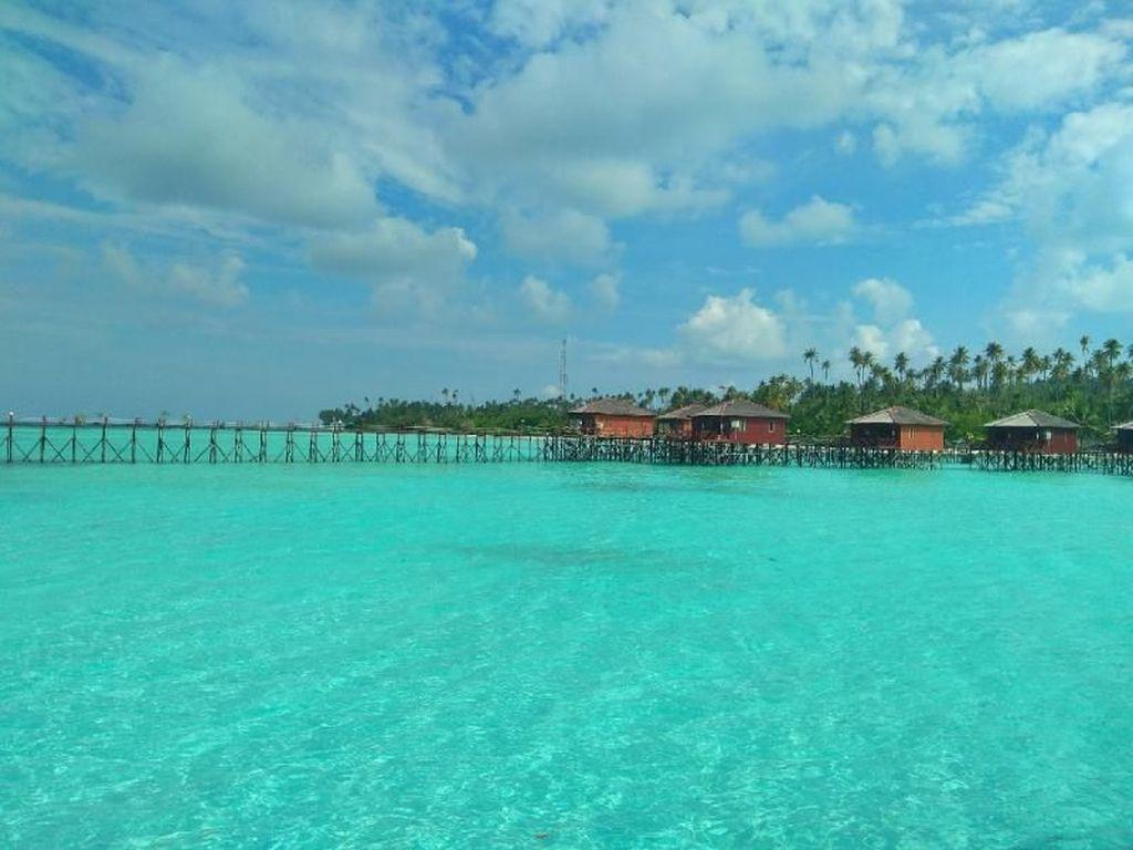 Bukan Maldives, Ini Cuma Kalimantan