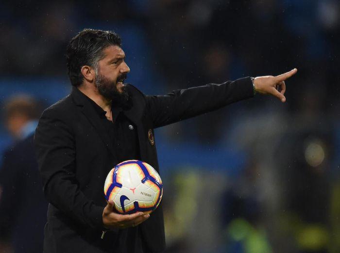 Gennaro Gattuso gagal meloloskan AC Milan ke Liga Champions musim depan (Tullio M. Puglia/Getty Images)