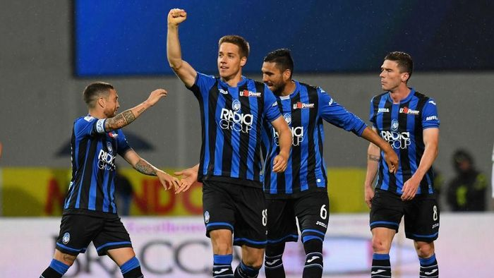 Atalanta finis ketiga di Liga Italia. (Foto: Alessandro Sabattini/Getty Images)