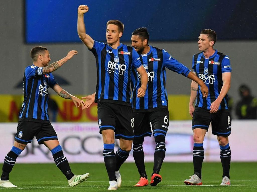 Atalanta Vs Sassuolo: Menang 3-1, Gli Orobici Finis Ketiga
