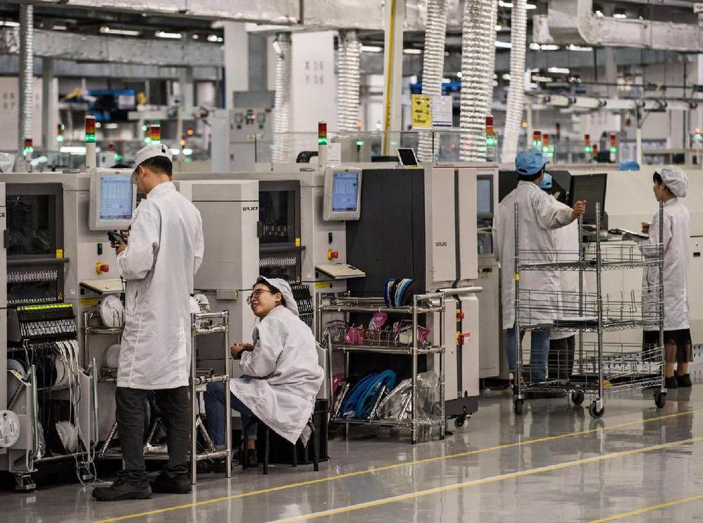 Produksi Ponsel Huawei di Foxconn Sementara Dihentikan?