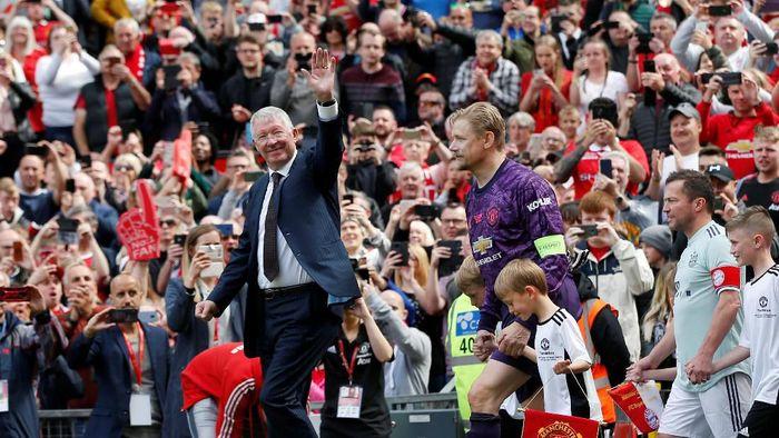 Alex Ferguson didapuk sebagai manajer dengan Steve McClaren sebagai asistennya. (Foto: Andrew Yates/Reuters)