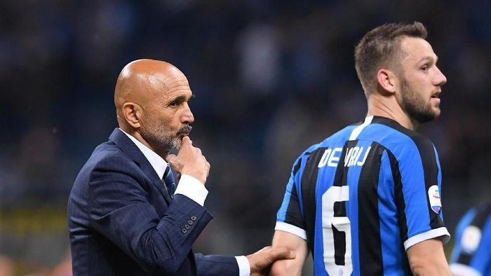 Luciano Spalletti masih kabur soal masa depannya di Inter Milan (Alberto Lingria/REUTERS)