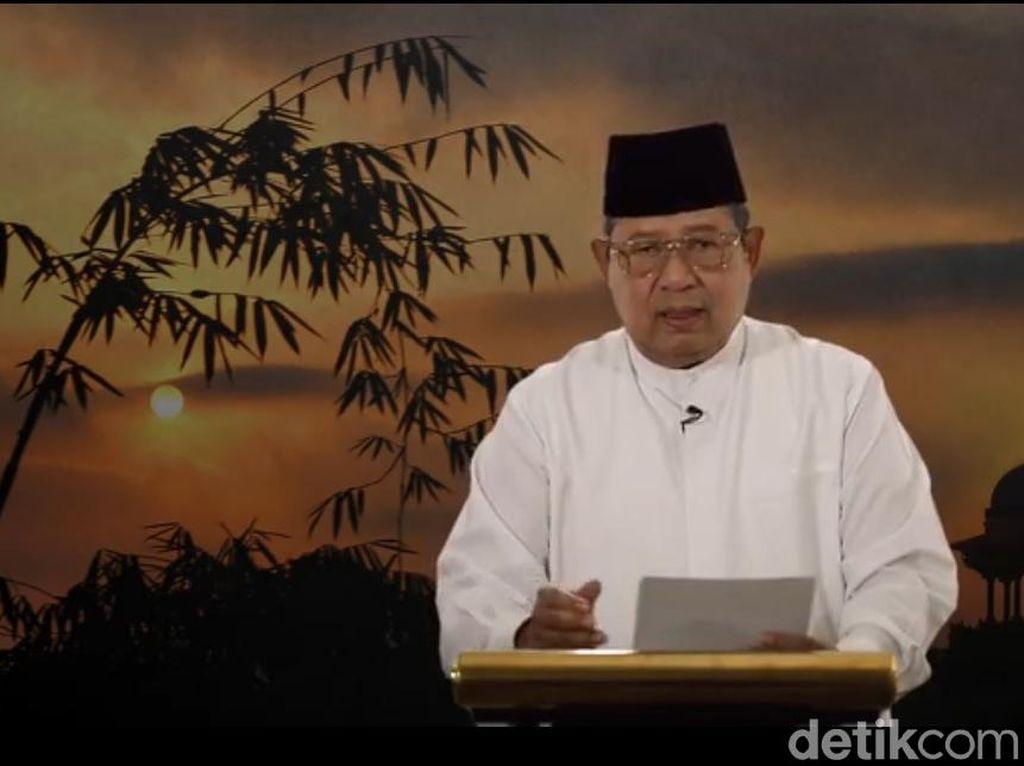 Isi Lengkap Kontemplasi Ramadhan SBY: Soal Jokowi-Prabowo dan Pem-bully