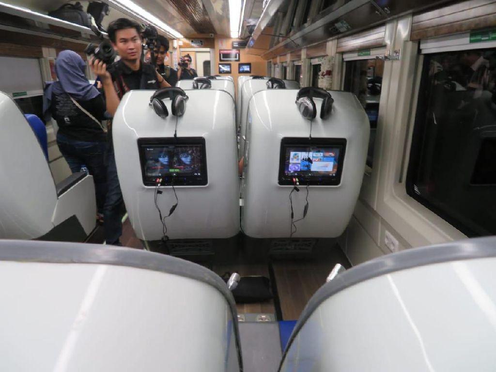 Menjajal Sensasi Mudik Pakai Sleeper Train Rasa Pesawat