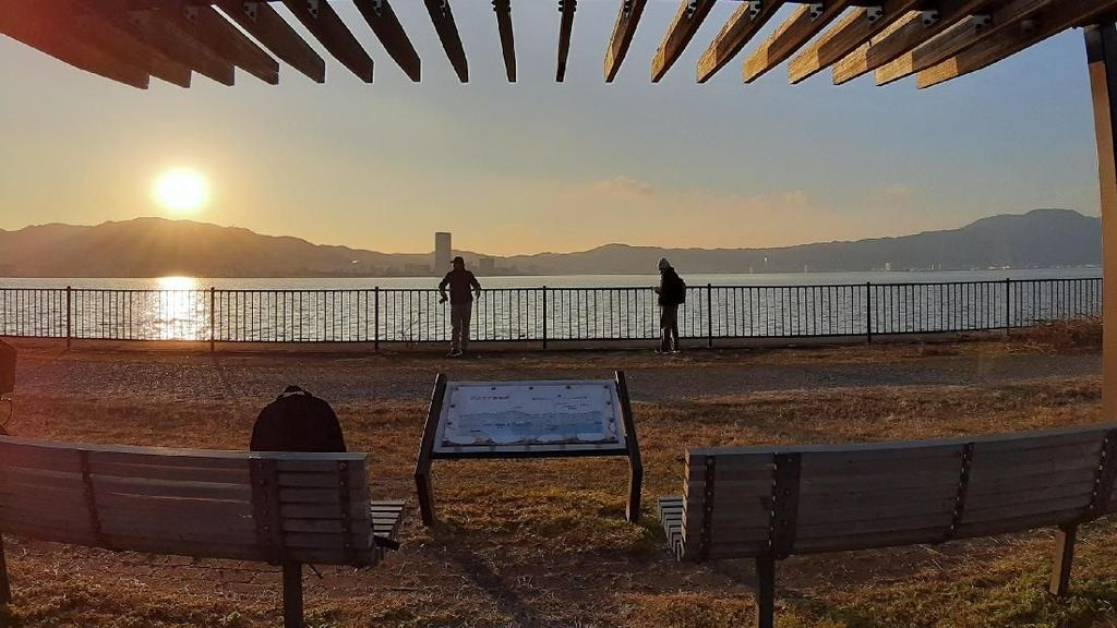 Ramadhan dari Tepi Danau Biwa, Jepang