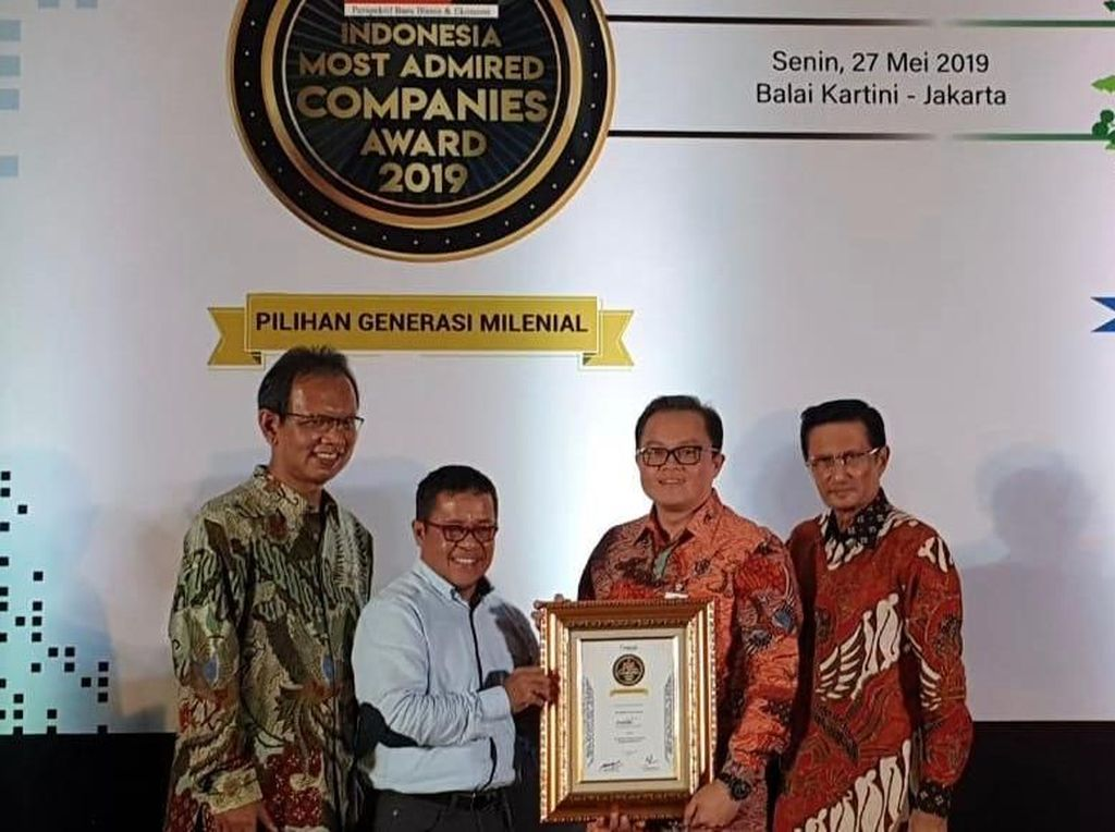 MTF Sabet Penghargaan Indonesia Most Admired