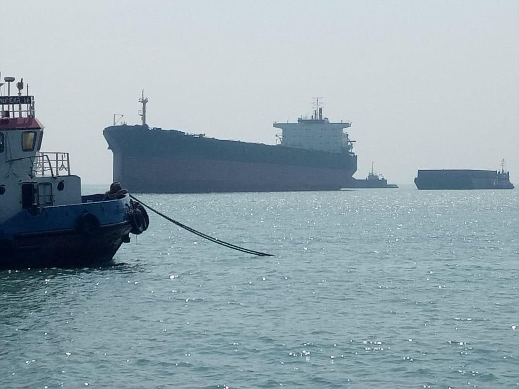 Kapal Barang Sitaan Dicuri di Banten, Kejari Jakpus Lapor Polisi