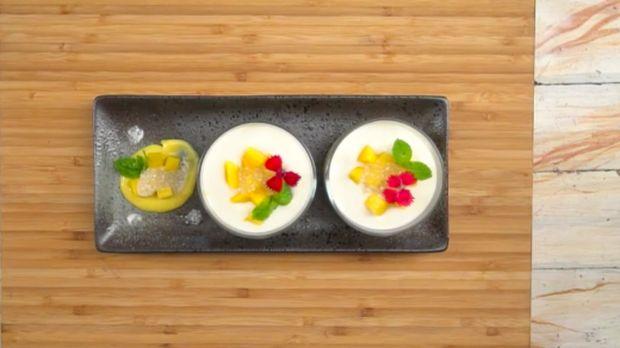 Menu Buka Puasa: Mango Sago, Si Kuning Putih yang Manis Segar