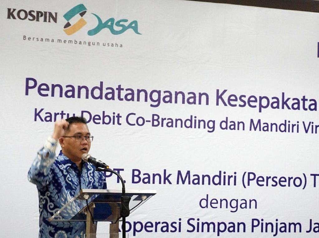 Bank Mandiri dan KOSPIN Jasa Kerja Sama Layanan e-Banking