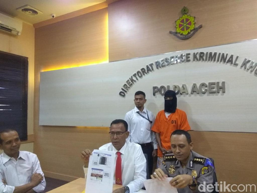 PNS di Aceh Penyebar Hoax dan Hina Presiden Terancam 10 Tahun Bui