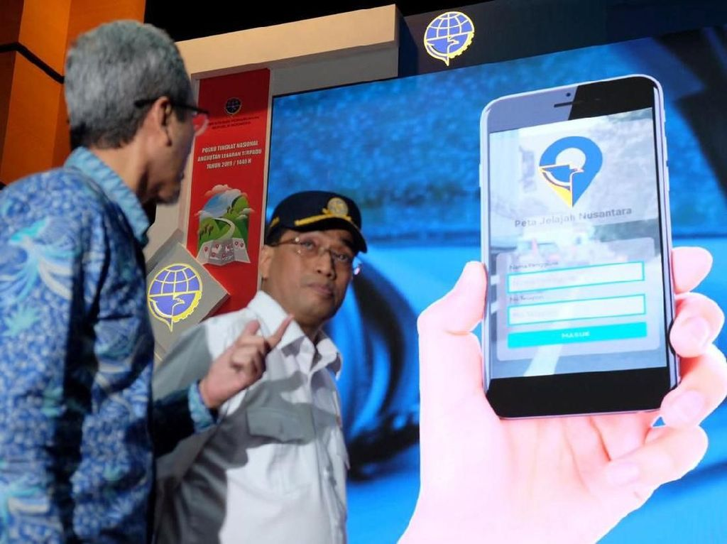 Peta Jelajah Nusantara, Navigasi Digital untuk Pemudik