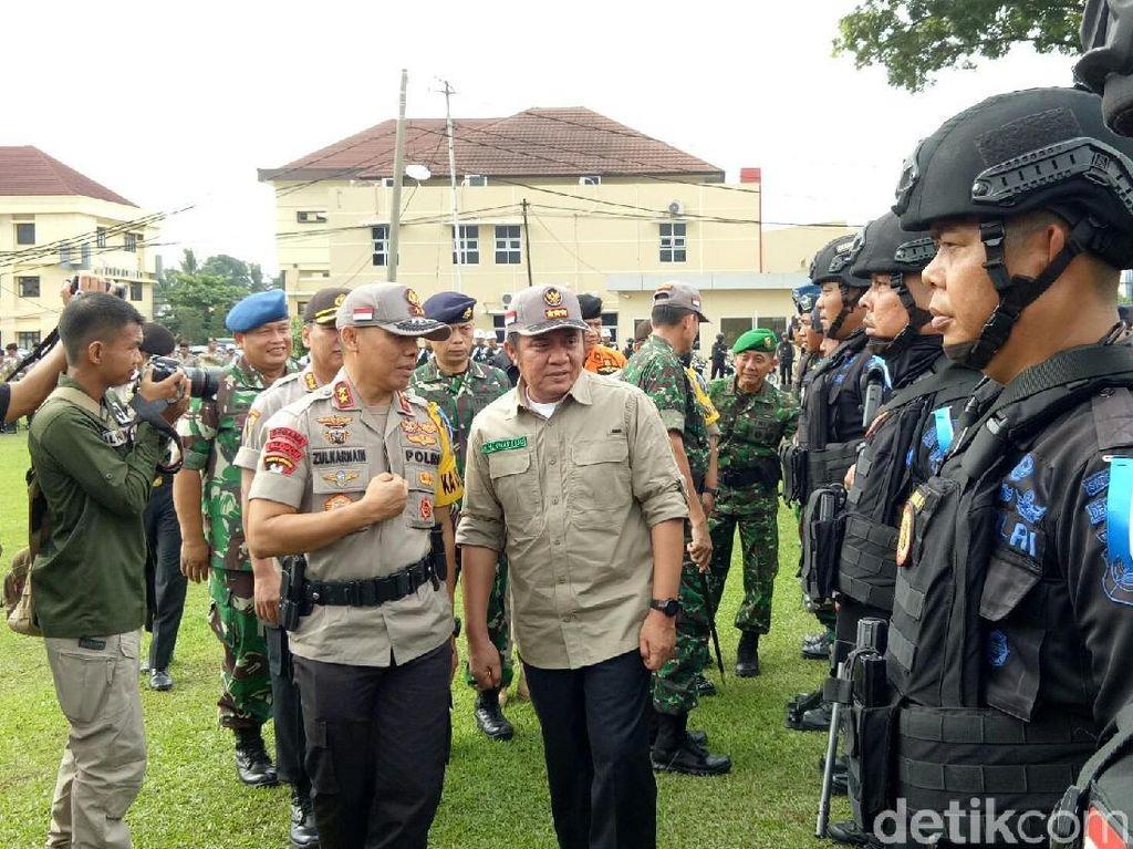 Polda Sumsel Siagakan Sniper di Sejumlah Daerah Rawan
