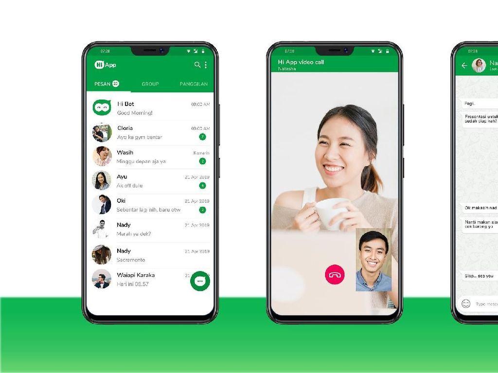 Hi App, Aplikasi Lokal yang Ingin Jadikan WhatsApp Rival