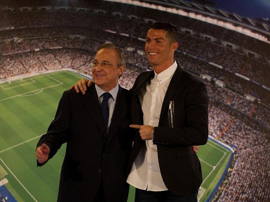 Perez: Kepergian Ronaldo dari Madrid Tak Terkait Uang