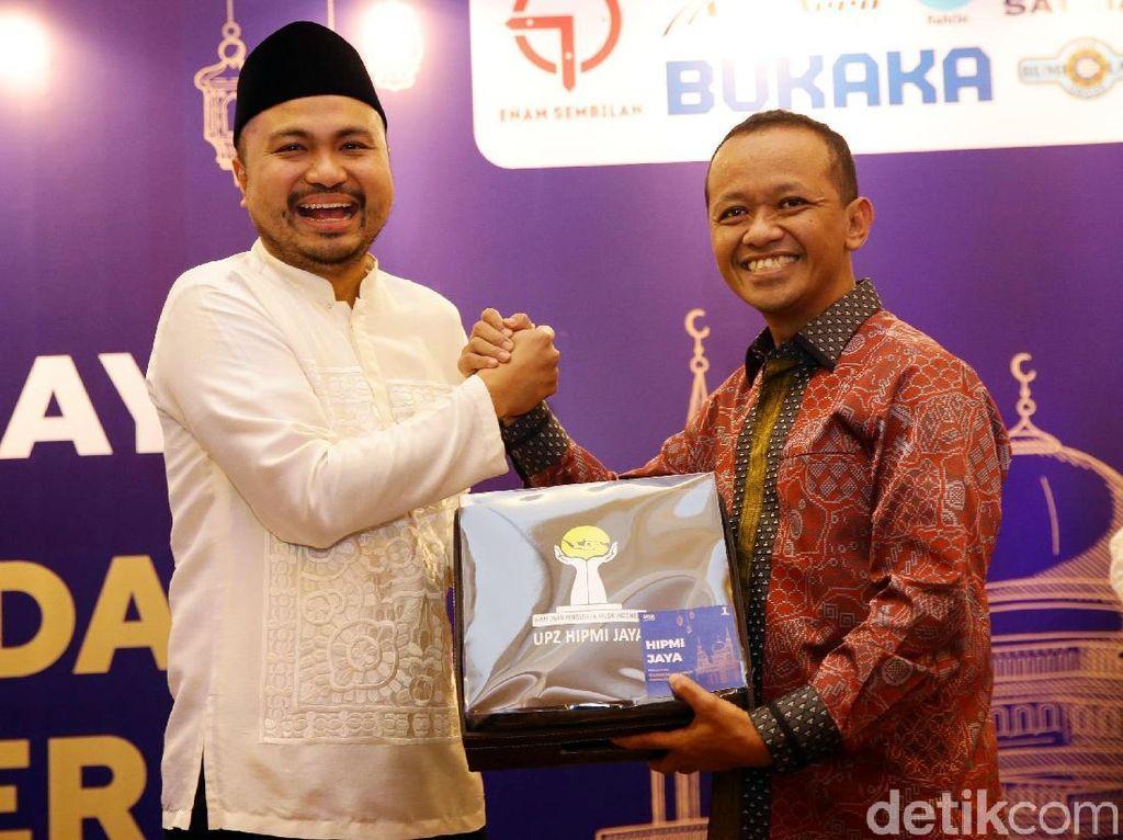 Afifuddin Kalla dan Bahlil Lahadalia Hadiri Ramadhan Gathering HIPMI Jaya