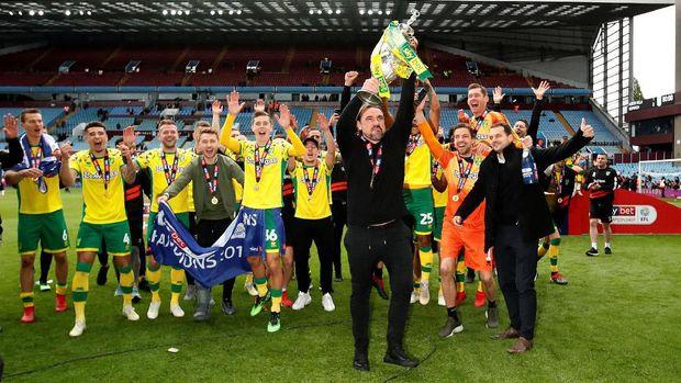 Norwich City juara Champinship musim ini. (