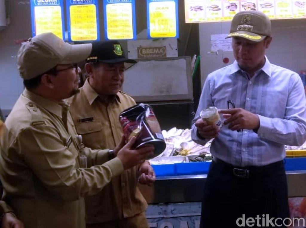 Sidak Penjual Makanan, Walkot Sukabumi: Ada Kemasan Rusak-Penyok