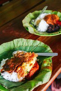 Nasi Jamblang   Kuliner Murah Cirebon