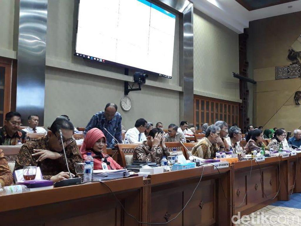 Dihadiri Sri Mulyani hingga Menkes, Rapat BPJS Kesehatan di DPR Alot