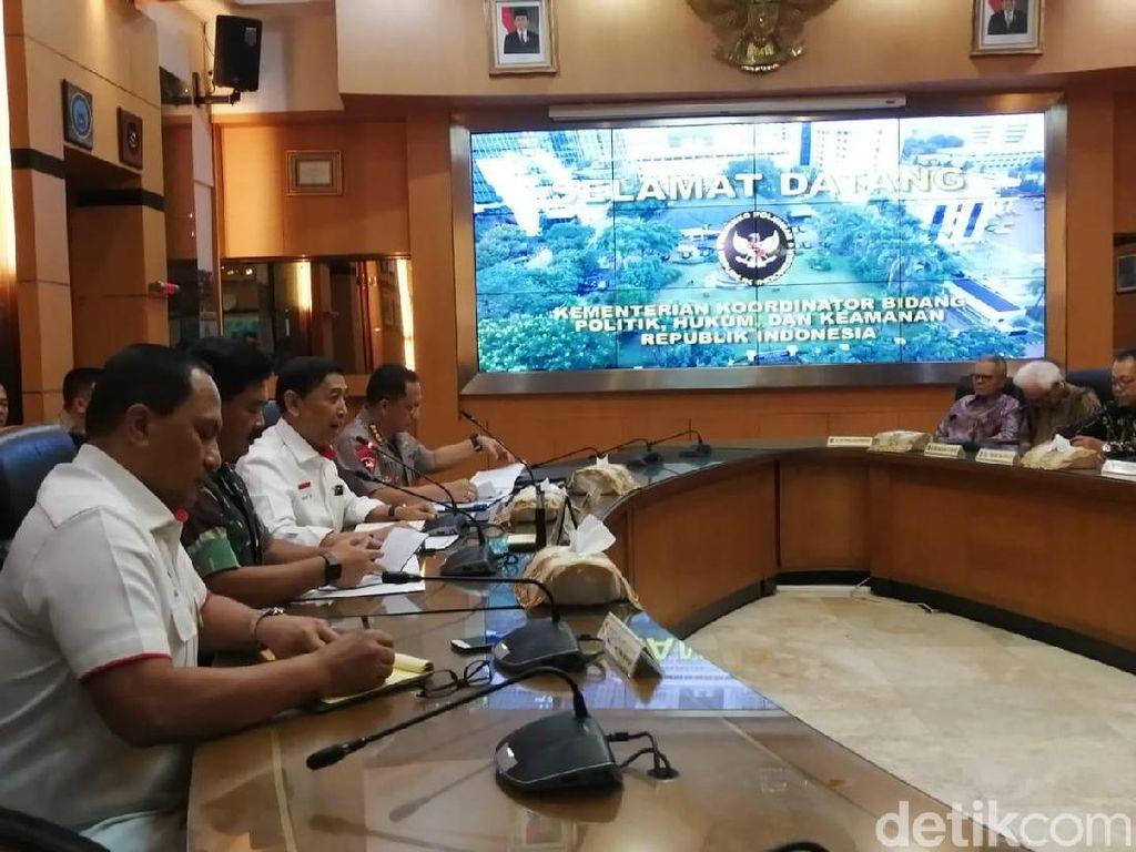 Antisipasi Krisis Nasional, Wiranto Gelar Pertemuan dengan Para Tokoh Bangsa