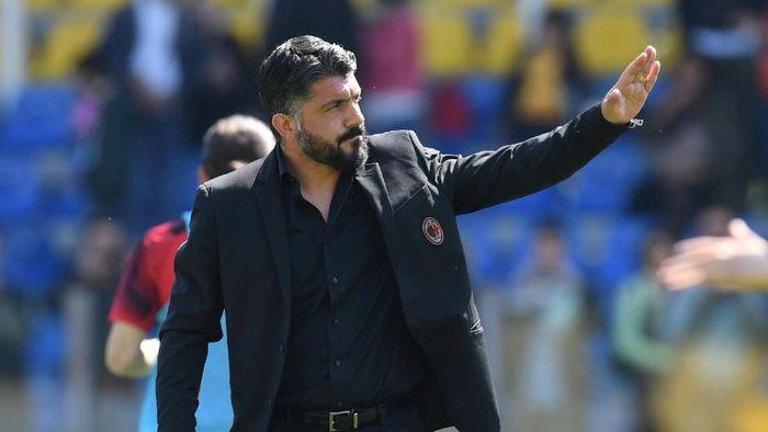 Gennaro Gattuso pisah jalan dengan AC Milan (REUTERS/Jennifer Lorenzini)