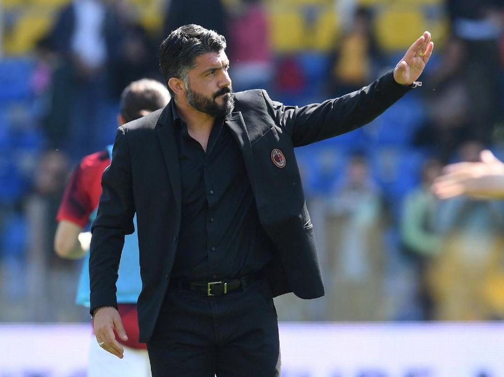 Gattuso-Milan Resmi Pisah Jalan