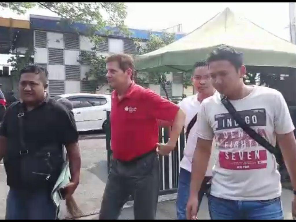 Penampakan Eks Tentara AS Jerry D Gray Saat Ditangkap karena Hina Jokowi